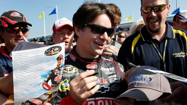 Gordon Fined $100K, Docked 25 Points by NASCAR