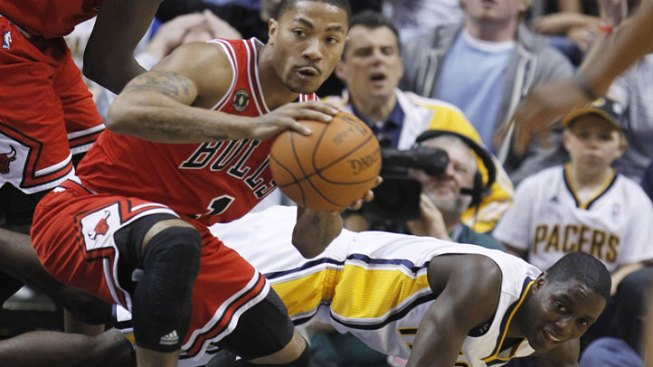 Rose Leads Bulls Past Pacers for 3-0 Lead