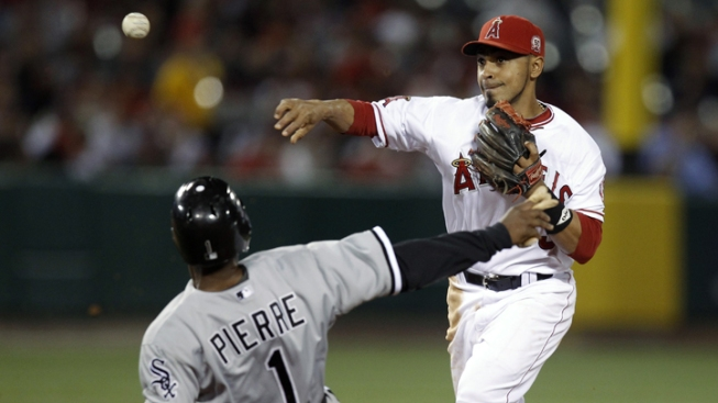 Angels' Bullpen Collapses in 6-4 loss to Sox