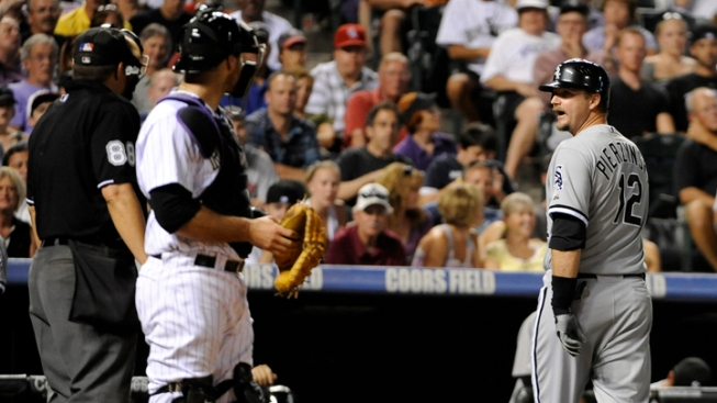 Sox Lose to Rockies in Extra Innings