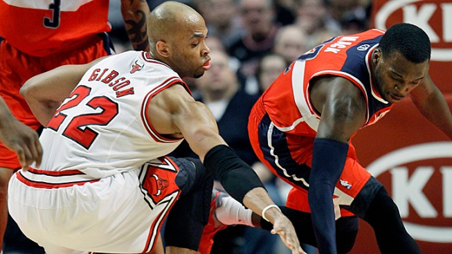 Bulls Lose to Wizards