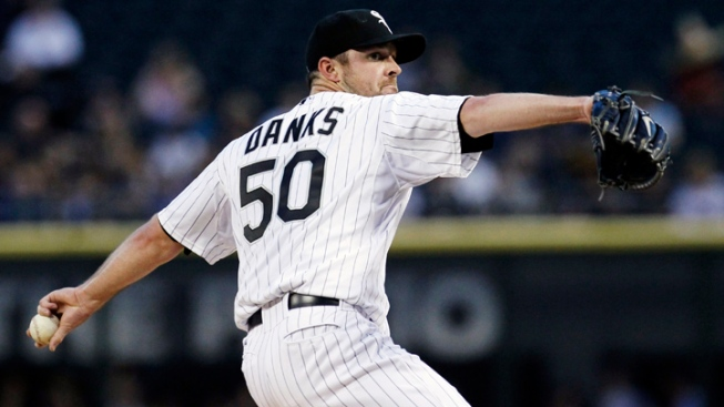 Danks Struggles Again; White Sox Lose to Indians