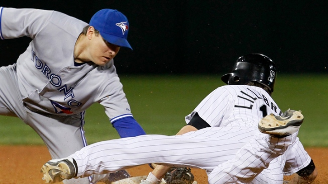 Blue Jays Blank White Sox
