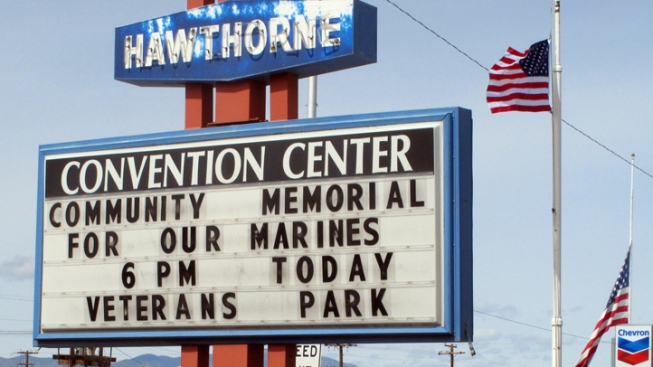 Nevada Town Mourns Marines Who Died in Explosion