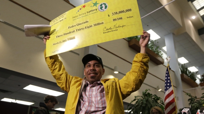 Child Support Warrant Stayed for Powerball Winner