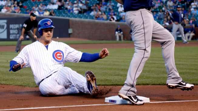 Cubs Fall to Padres