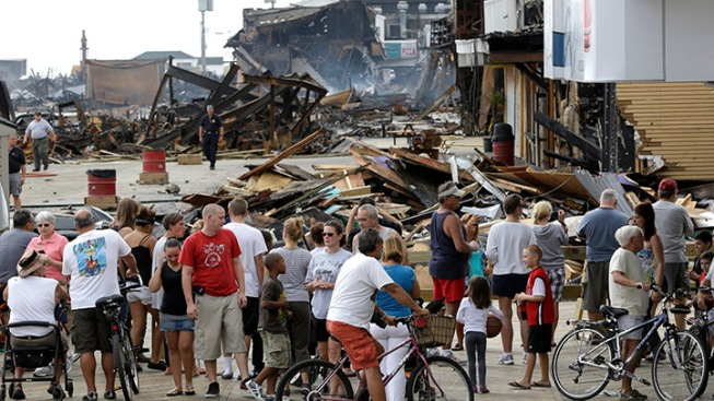 Christie to Provide Counselors for Seaside Residents in Wake of Fire