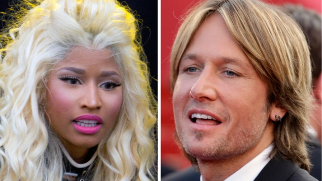Nicki Minaj, Keith Urban Named New 'Idol' Judges