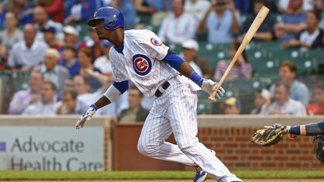 Lake Hits Grand Slam, Cubs Beat Brewers 8-5
