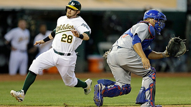 Cubs Give Up Lead in 8th to Lose to A's