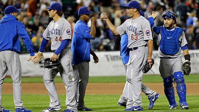 DeJesus Helps Cubs beat Mets Before Injury