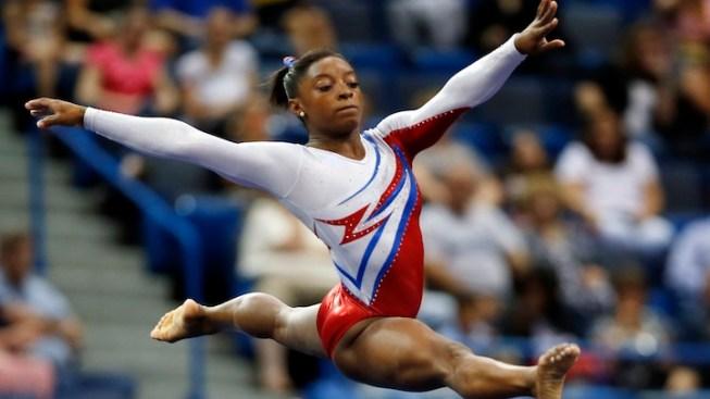 Simone Biles Lands Gymnastics Title