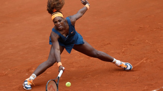 Fast Start for Serena Williams at French Open