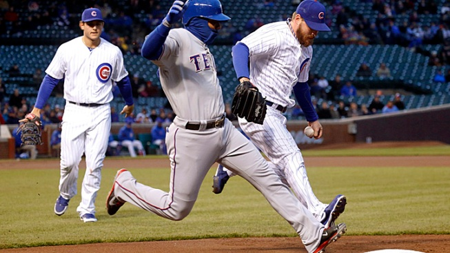 Rangers Pitch Past Cubs