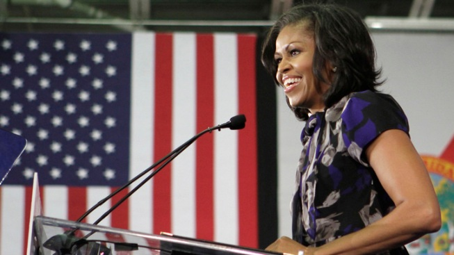 Michelle Obama Avoids Sandy, Travels to Chicago Sunday Night
