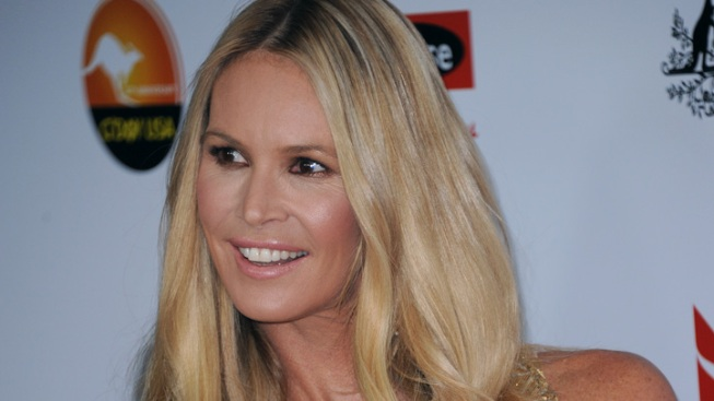 Elle Macpherson Ties the Knot
