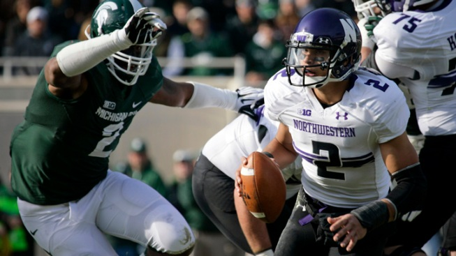 Northwestern Holds on to Edge Michigan State