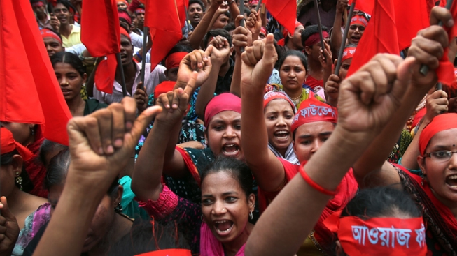 Angry Workers Unite Worldwide for May Day Rallies