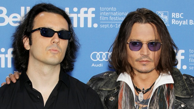Johnny Depp Shares 'Ink' with Damien Echols