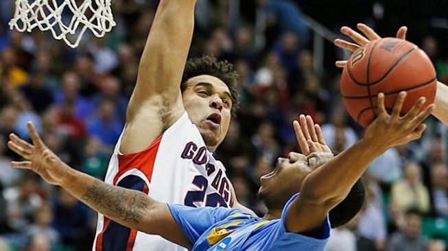 Top Seed Gonzaga Ekes Out 64-58 Win Over 16th-Seeded Southern