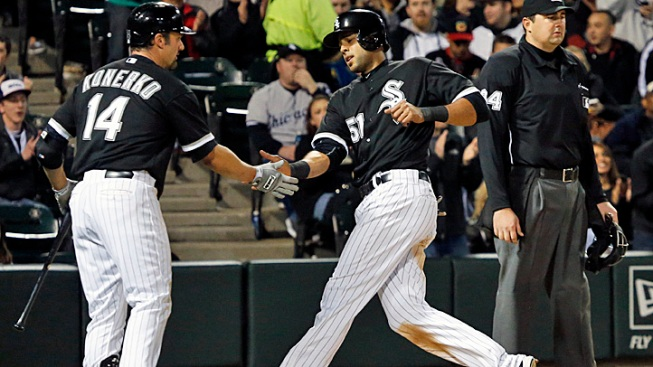 Peavy, White Sox Power Past Rays