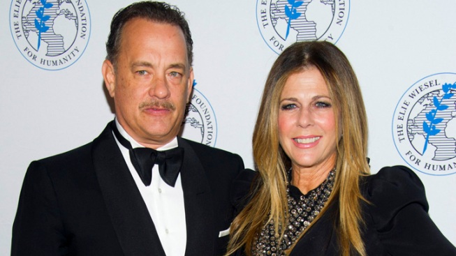Tom Hanks Honored at Elie Wiesel Foundation Gala