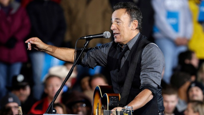 Barack Obama Unites New Jersey's Finest: Bruce Springsteen and Gov. Chris Christie