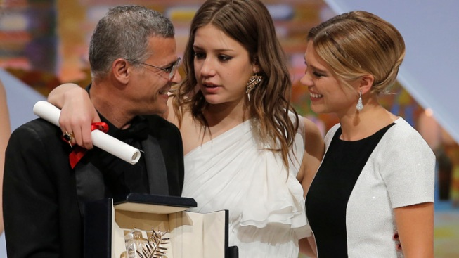 """Blue Is the Warmest Color"" Wins Palme d'Or"