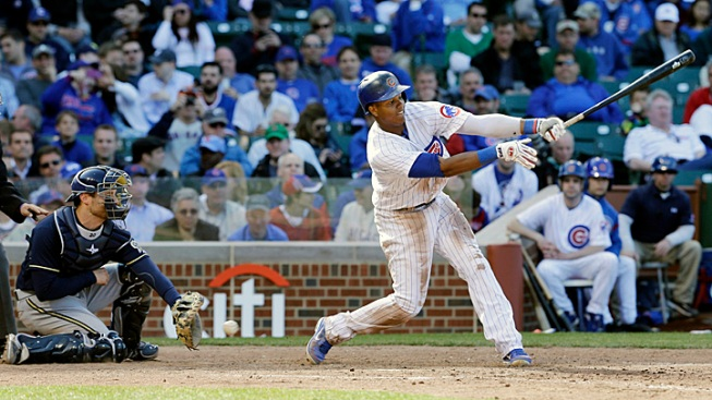 Cubs Fall to Brew Crew in Home Opener
