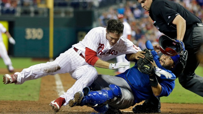 Murphy's Homer in 9th Lifts Cubs Past Phillies