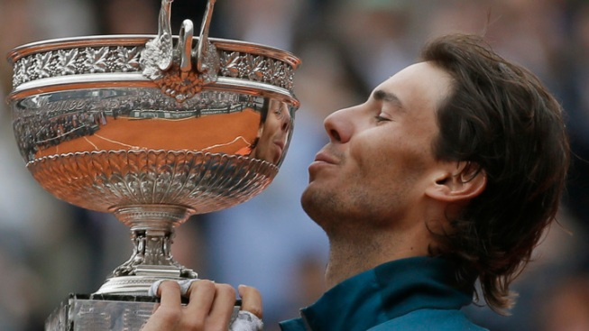 Nadal Wins 8th French Title