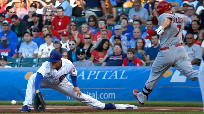 Jackson, Rizzo Lead Cubs Over Cards