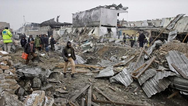Blast Hits U.S. Compound in Afghan Capital