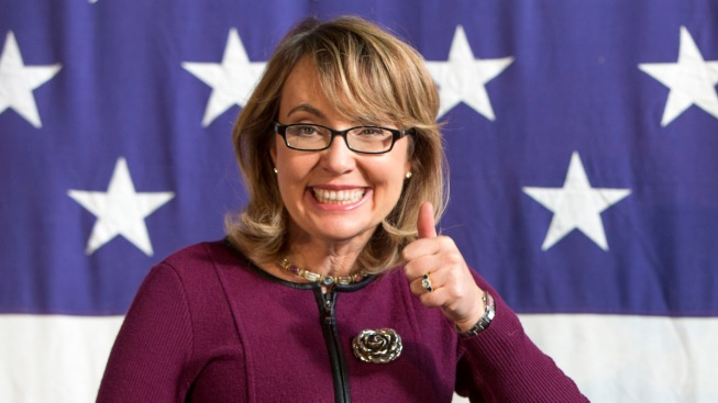Gabby Giffords Backs Re-Election Bids of Sens. Toomey, Kirk