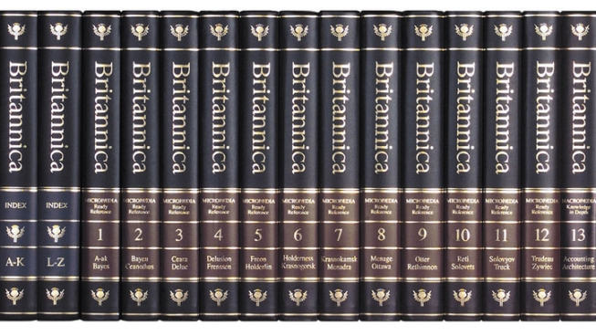 Encylopaedia Britannica Sales Skyrocket After Announcement of Final Printing