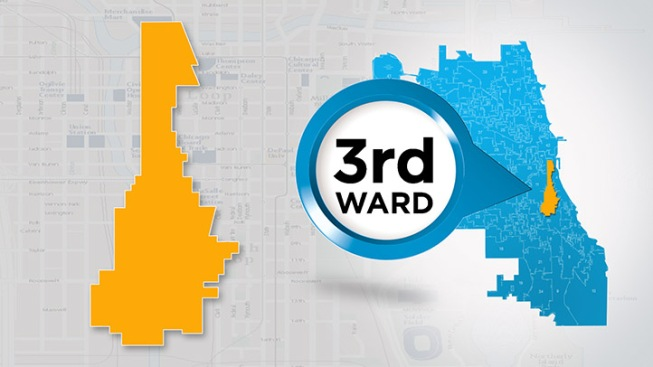 3rd Ward Chicago Map.Get To Know Your Ward 3rd Ward Nbc Chicago