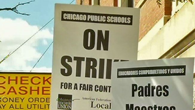 Chicago Teacher On Picket Line Struck By Car