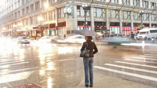 Temps Drop As Rain Persists