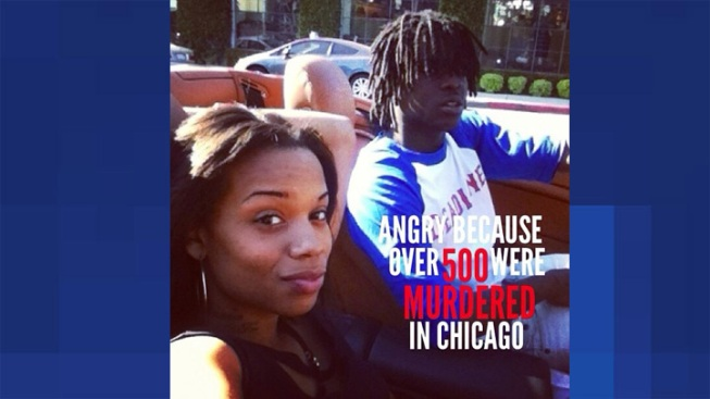 Chief Keef Pic Stirs Up Anti-Violence Campaign