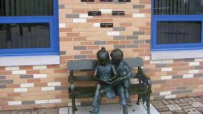 Memorial Statue Stolen from School