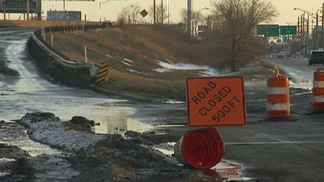 Cline Avenue Reopened After Pothole Closure
