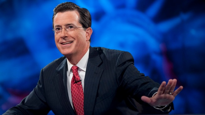 """Colbert Report"" Wins Peabody Award for Its Satirical Stunts"