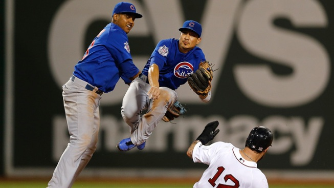 Cubs Beat up Red Sox 16-9, Sweep Series