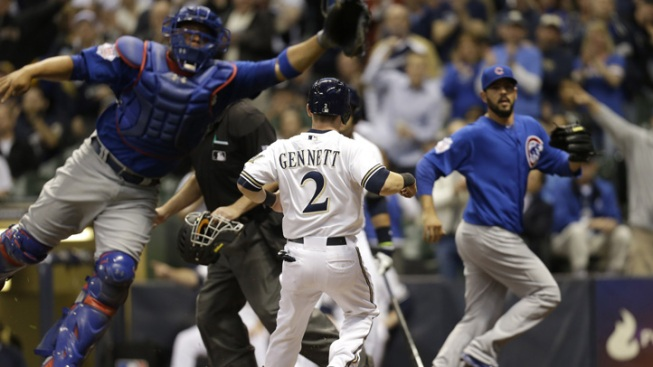 Brewers Beat Cubs 5-2