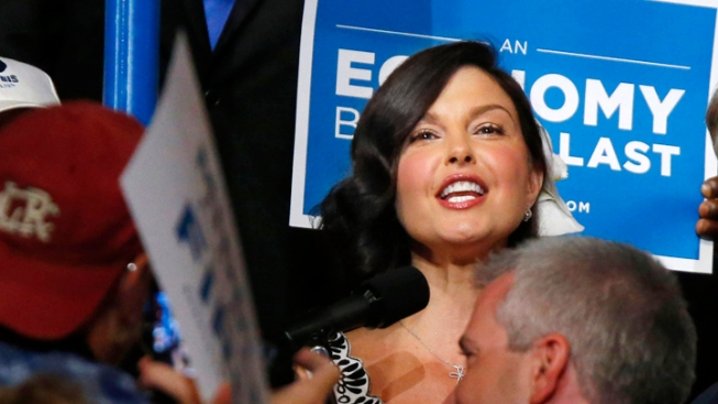 Ashley Judd Won't Run for Senate in 2014
