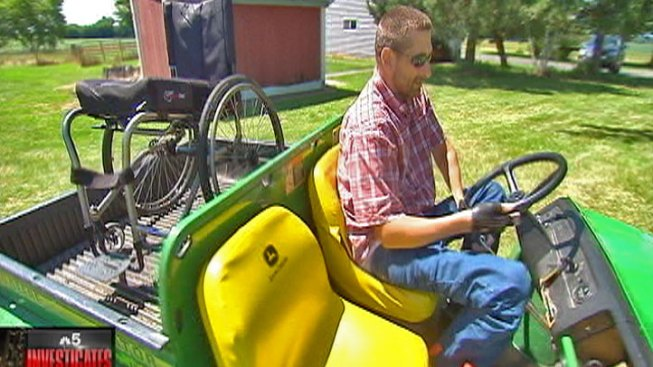 Town May Allow Man to Drive Utility Vehicle on the Street