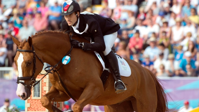 Czech David Svoboda Takes Gold in Men's Modern Pentathlon