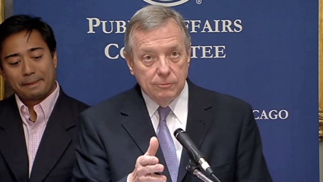 Sen. Durbin 'Not Thinking About' Gubernatorial Run