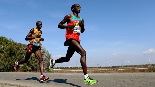 2014 Elite Male Runners: Eliud Kipchoge