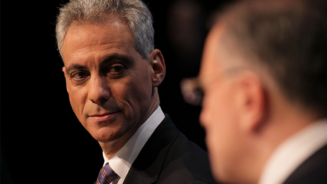 Rahm Talks CTU Deal, Has Choice Words for Rauner